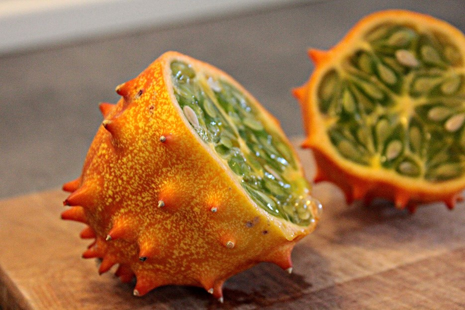 Fructul Exotic Kiwano (Horned Melon)