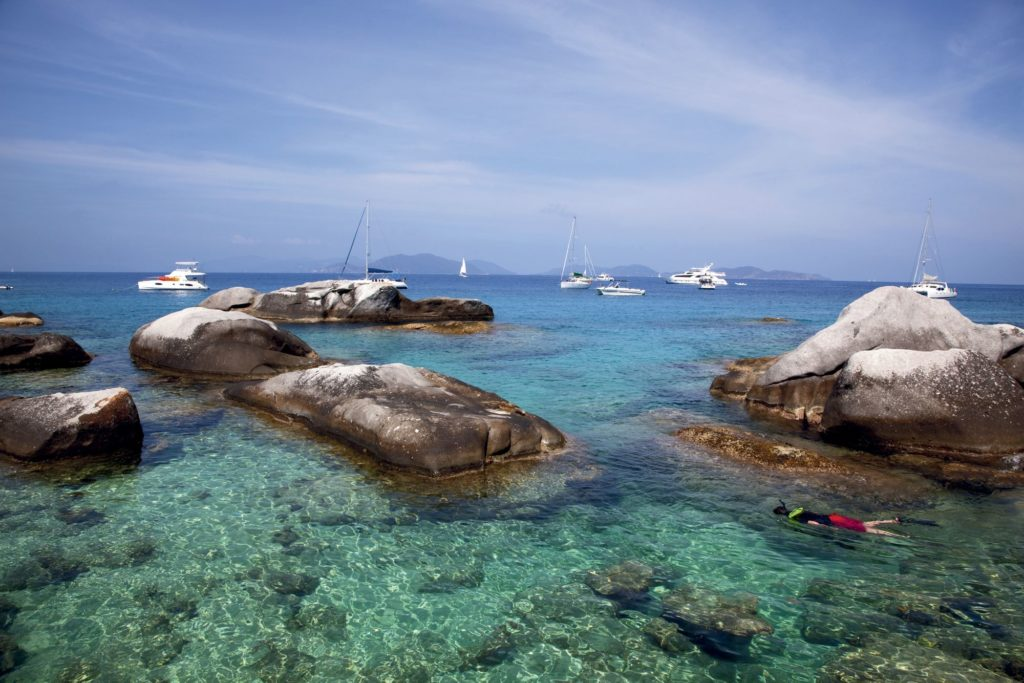 The Baths, Virgin Gorda, Insulele Virgine Britanice