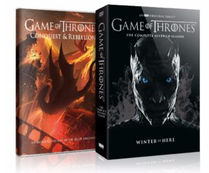 colectie dvd-uri game of thrones